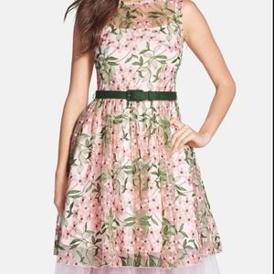 Eva Franco secret garden inspired vintage dress
